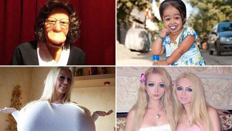صور أكثر النساء غرابة في العالم