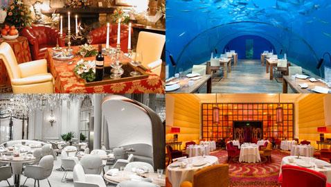 أشهر مطاعم العالم للأثرياء فقط! أحدها صاحبه جزائري وآخر يتسع لشخصين فقط!