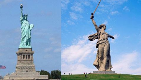 بالصور.. تعرفوا على أشهر وأغرب تماثيل العالم