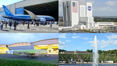صور أضخم المباني حول العالم.. أحجامها مدهشة