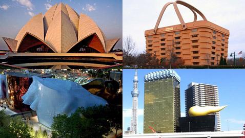 بالصور.. تعرفوا على أغرب المباني الفريدة من نوعها في العالم