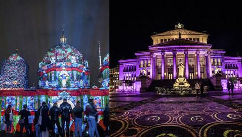 مهرجان الأضواء يحول معالم العاصمة الألمانية إلى لوحات فنية ساحرة.. صور