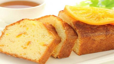 طريقة تحضير كعكة البرتقال الشهية والخفيفة بدون بيض