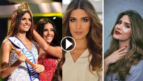 الجمال اللبناني يتألق من جديد: لبنانية تفوز بلقب ملكة جمال كولومبيا