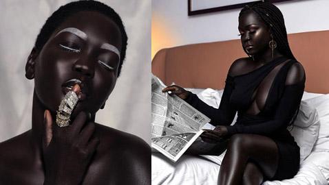 ملكة الظلام..عارضة أزياء من جنوب السودان تتحدى معايير الجمال