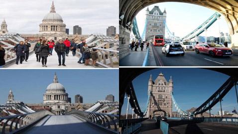 لندن مدينة أشباح... صور تكشف تأثير كورونا في السياحة البريطانية