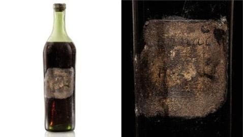 قنينة كونياك هي الأقدم في العالم تباع بأكثر من 145 ألف دولار