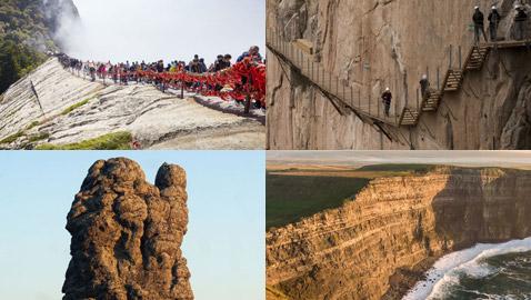 لا تنظر للأسفل! أخطر 10 مسارات وممرات جبلية في العالم لعشاق الإثارة