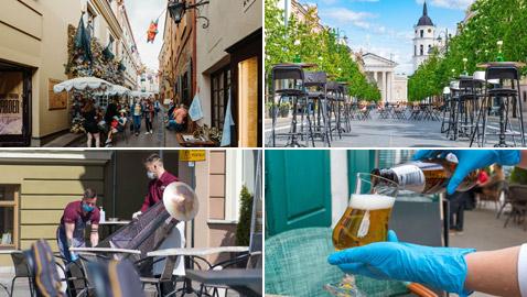 زيارة إلى المدينة التي تحولت إلى مقهى عملاق في الهواء الطلق! صور